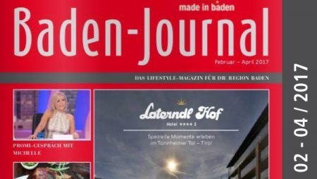 Baden-Journal Februar – April 2017
