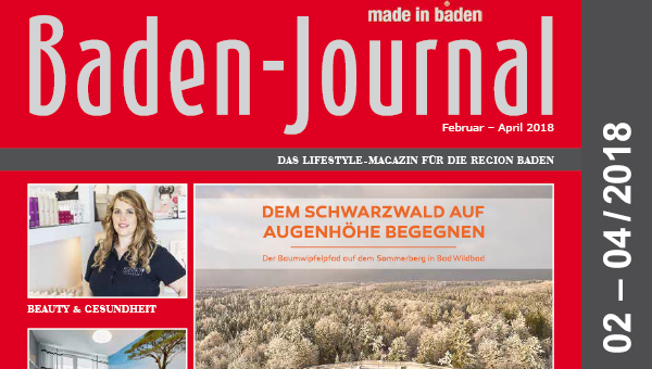 Baden-Journal Februar – April 2018