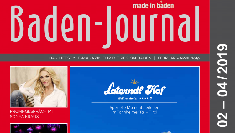 Baden-Journal Februar – April 2019